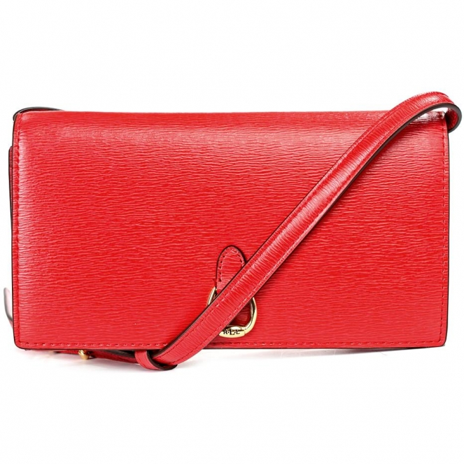 Сумка-клатч женская Lauren Ralph Lauren LR431709358004 red crossbody