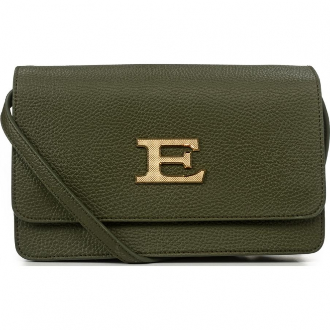 Сумка-клатч женская Ermanno Scervino ESC12401036 army green Eba winter plain